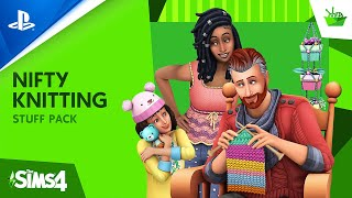 The Sims 4 Nifty Knitting - Official Trailer | PS4