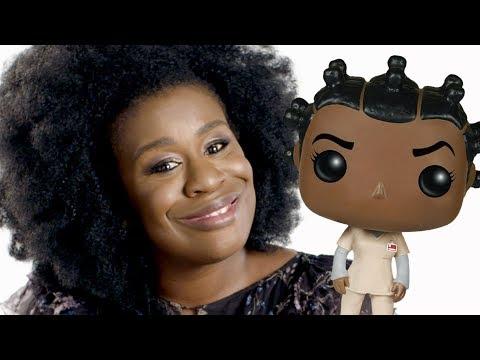 Uzo Aduba Plays with Orange Is the New Black Dolls  Omaze