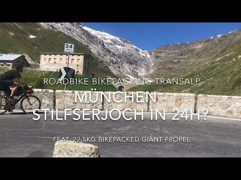 4K München-Stilfserjoch in 24h? Bikepacking Rennradtransalp