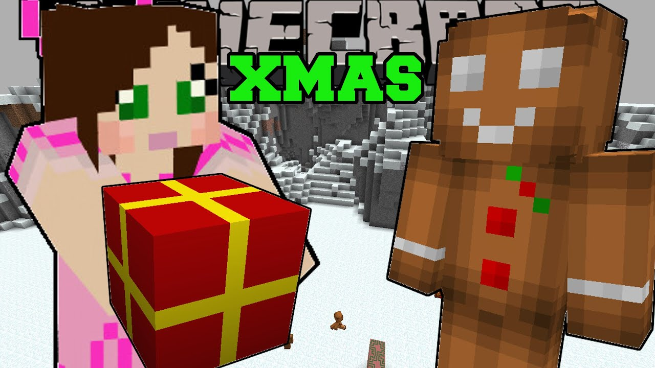 Minecraft: THE SPIRIT OF CHRISTMAS! (SANTA, CHRISTMAS DIMENSION ...