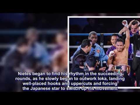 Donnie Nietes captures WBO Super Flyweight World Championship