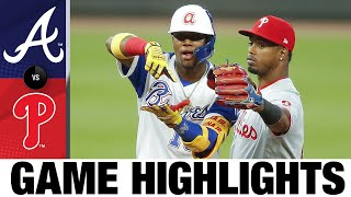 Braves vs. Phillies Game Highlights (4/9/21) | MLB Highlights