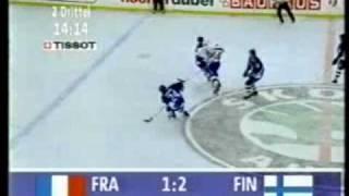 Jääkiekon MM Kisat 1996 Suomi - Ranska