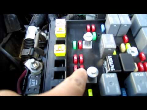 Caravan Water Pump Wiring Diagram Trailblazer No Low Beam Headlights Easy Fix Youtube