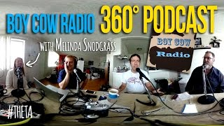 BoyCowRadio First  360° Podcast - with Melinda Snodgrass