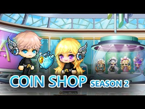 MapleStory Mechanical Hearts, Beautyroid Coin Shop Season 2