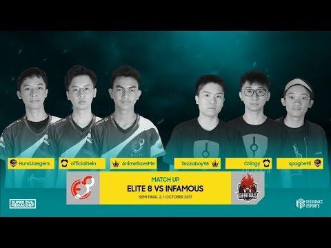 Infamous vs Elite 8   Semi Finals 2   SEA Vainglory 8 Autumn Season S1W1