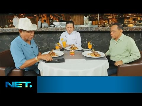 Tarzan & Eko DJ - Premium Lamb Chop | Chefs Table | Chef Chandra | NetMediatama