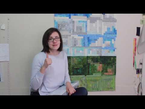 Review of KatiePM's Artful Log Cabin Technique