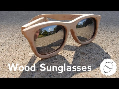 How to Make Wood Sunglasses | With a Free Cutting Template!