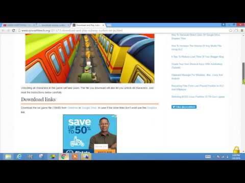 HOw To Download Subway Surfer For Pc Update 2016