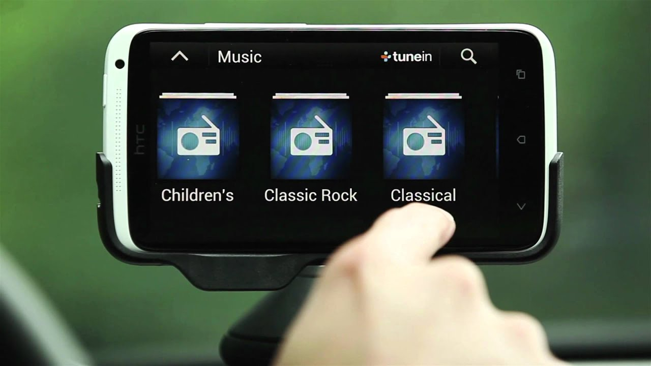 HTC ONE series - Bringing the HTC music experience to your car