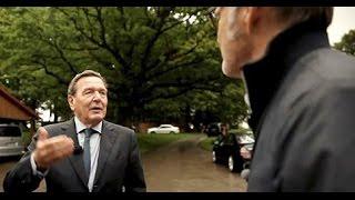 Macht. Mensch. Schröder - Beckmann trifft den Altkanzler - ARD Reportage