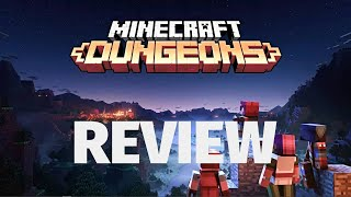 Minecraft Dungeons Review - Sword & Board & Block Adventures (Video Game Video Review)