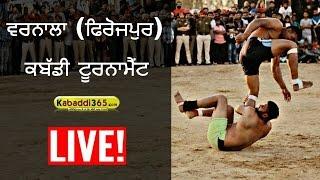 Repeat youtube video Warnala (Firozpur) Kabaddi Tournament 25 March 2017 (Live)