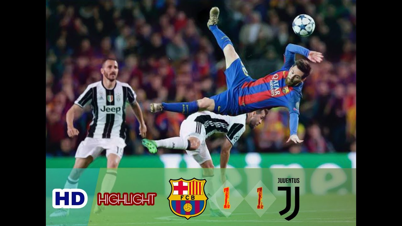 Barcelona 1 vs 1 Juventus • Full Highlight & Goals HD ...