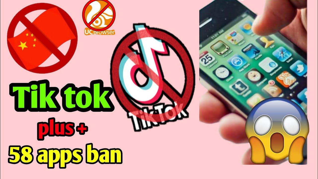 Tik Tok, Ucbrowser + many apps ban in India | list of apps ban in India | china ban