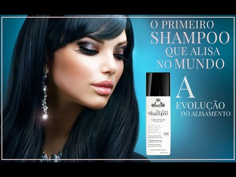 The first  o shampoo que alisa.