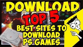 🛠️ WHERE TO DOWNLOAD ISOS, ROMS and MORE PS CLASSIC