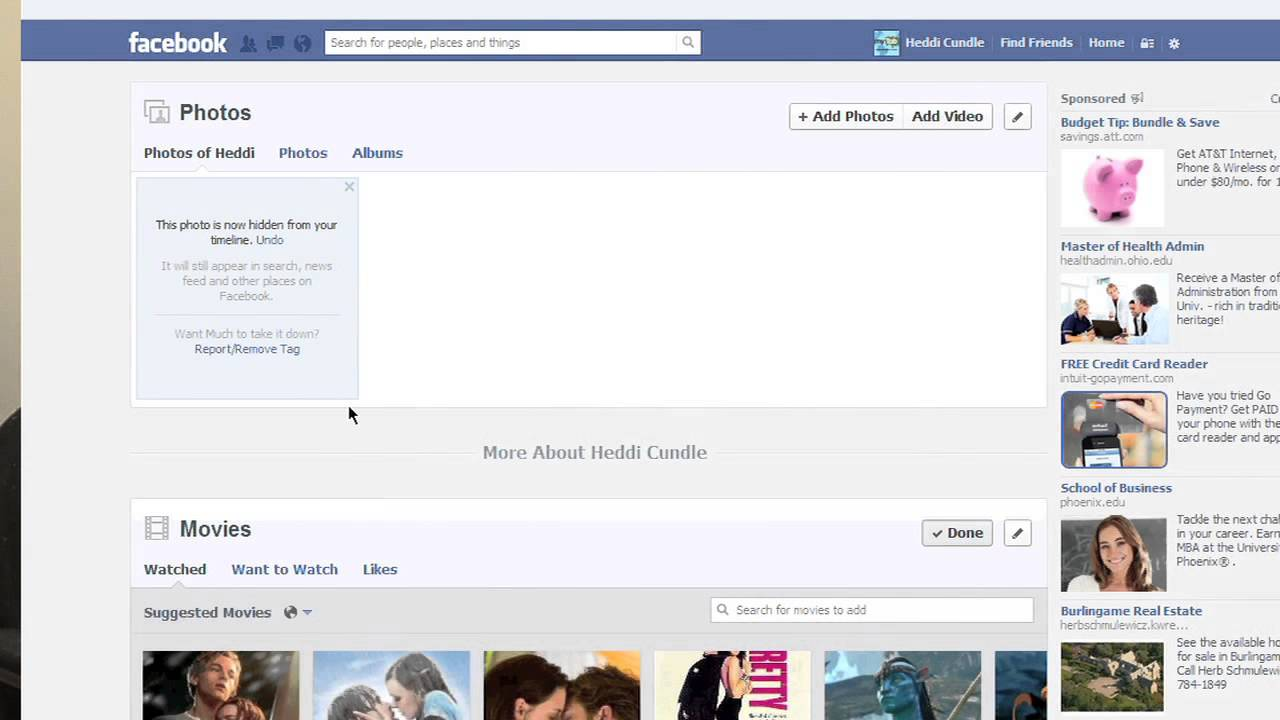 How to Unhide a Picture on Facebook : The Tech Factor