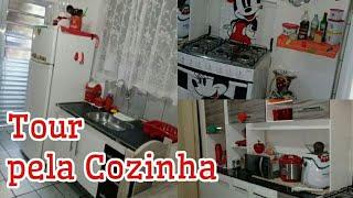 Tour pela Minha Cozinha -Simples e Vermelha