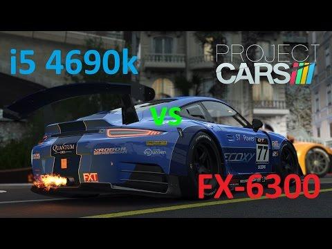 AMD FX-6300 vs Intel i5 4690k in Project CARS (GTX 960)