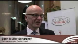 Dieter Kaufmann beim Gourmet Abu Dhabi