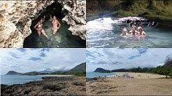 MERMAID CAVE AND ZABLAN BEACH - WAIANAE - OAHU - HAWAII