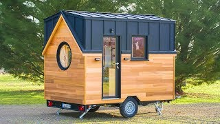 Absolutely Gorgeous Tiny House Nano By Baluchon | Living Design For A Tiny House