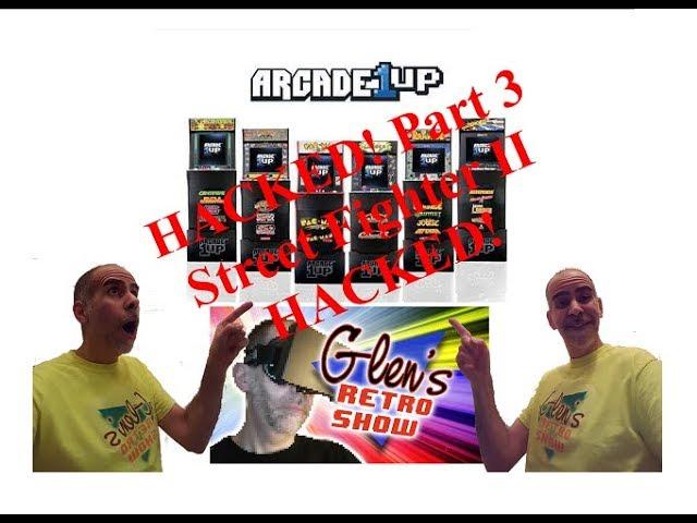 Arcade1UP Street Fighter II - HACKED! Part 3