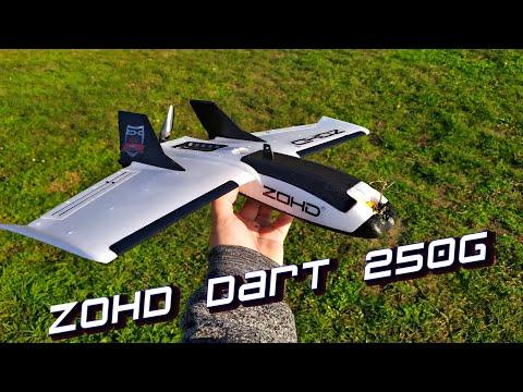ZOHD Dart 250G - Мал да удал!!! Ультра легкое миникрыло для дальних полетов!