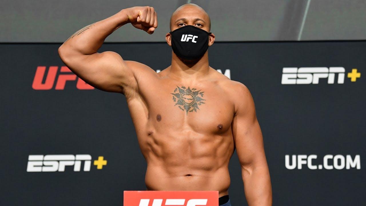 UFC Vegas 20: Rozenstruik vs Gane - Weigh-in