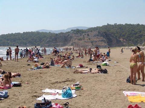 iztuzu Plajı ( iztuzu Beach )  Dalyan / Turkey