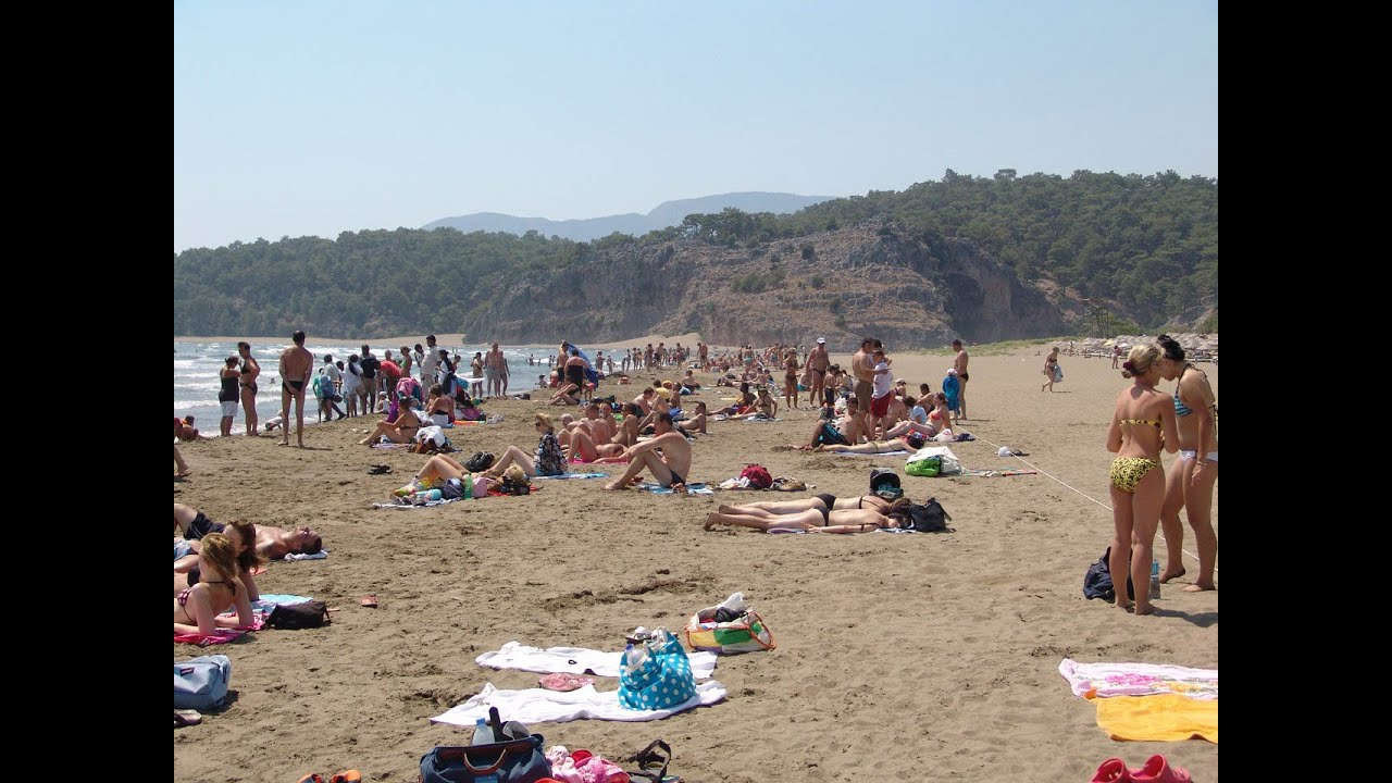 iztuzu Plajı ( iztuzu Beach ) Dalyan / Turkey - YouTube
