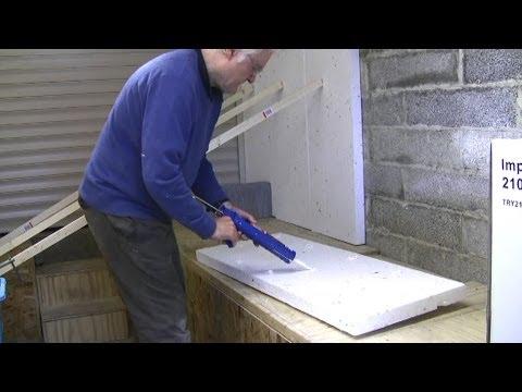 Garage Workshop Conversion 2  insulation  YouTube