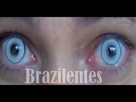 cbab96061e464 Comprar Lente contato branca FRETE GRÁTIS Para Todo Brasil - YouTube