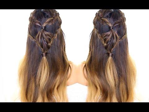 diamond-headband-braid-hairstyle-★-half-up-braid-|-updo-hairstyles