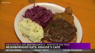 Neighborhood Eats: Krause&#39s Cafe serving up German cuisine with Texas flair