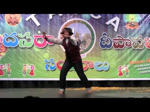 Charusheela Dance by Anirudh V for TAGCA 2015