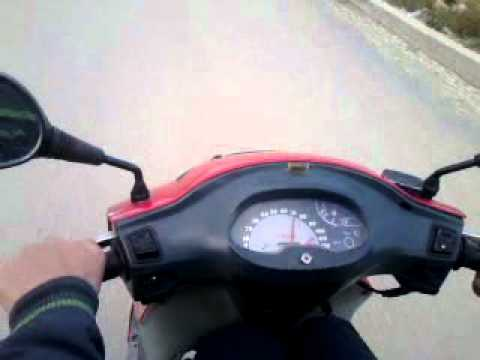 kymco kb 100 - (120 kmh).mp4 - youtube