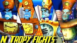 Evolution of N Tropy Battles in Crash Bandicoot Games (1996-2017)