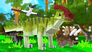 Our First Baby Water Dino (Fishy Boi) - Minecraft Jurassicraft Dinos Modpack Episode #4   JeromeASF