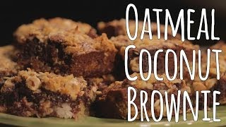 Oatmeal Coconut Brownies Recipe