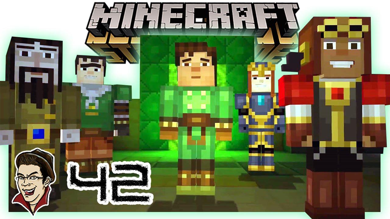A Season 2 Minecraft Story Mode 42 Episode 8 Finale Youtube