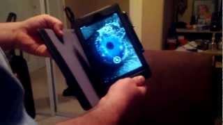Google Nexus 7 - Roocase Multi-angle Leather Folio Smart Case