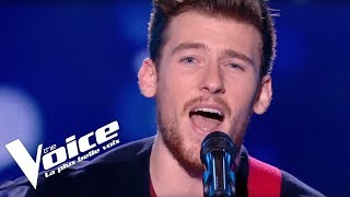 Slimane - Je serai là | Casanova | The Voice France 2018 | Blind Audition