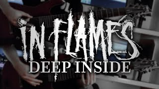 In Flames - Deep Inside (Guitar Cover with Play Along Tabs)