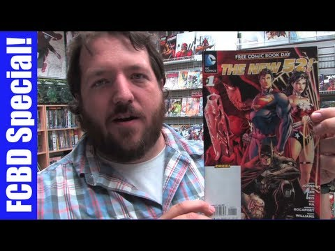 UNBOXING WEDNESDAYS - Free Comic Book Day 2012 Edition - FCBD