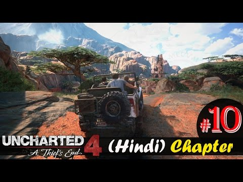 "Uncharted 4 Hindi Chapter 10 ""The Twelve Towers"" PS4 Gameplay Walkthrough"