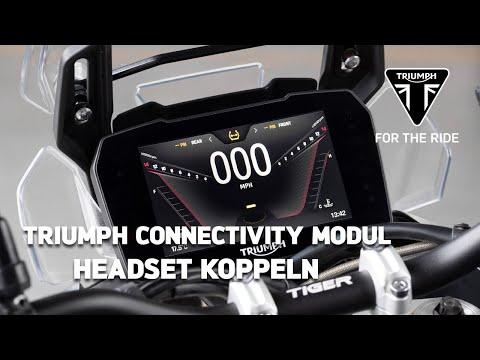 Triumph Motorrad Connectivity Modul - Headset koppeln
